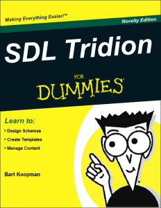 SDL Tridion for Dummies