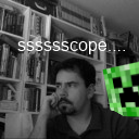 Paceaux aka Frank M. Taylor has had scope blow up on him, like the Minecraft creepy he doesn't notice behind him.