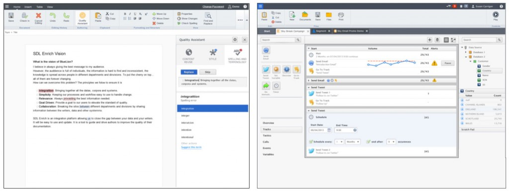 SDL Media Manager and SDL Campaigns using Carbon 2.0