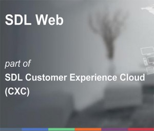 SDL Web - Part of the Customer Experience Cloud