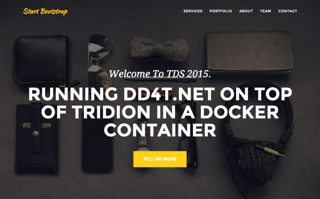 DD4T .NET on Linux